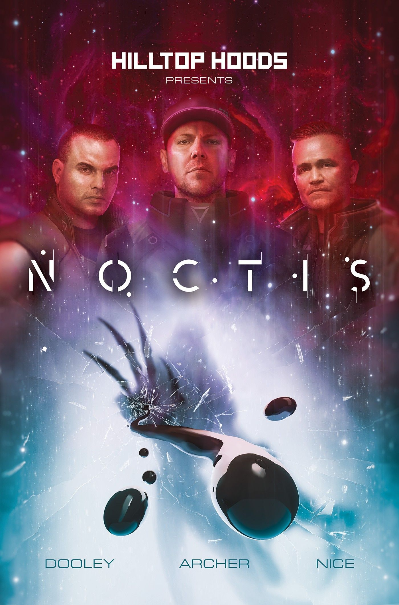 Hilltop Hoods and Z2 Comics announce the group's first foray into comics in Noctis